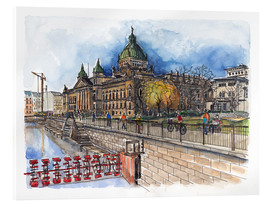 Acrylic print  Leipzig Federal Administrative Court - Hartmut Buse