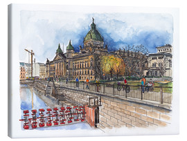 Canvas print  Leipzig Federal Administrative Court - Hartmut Buse