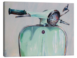 Canvas print  Vespa Mint - Renate Berghaus