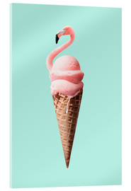 Acrylic glass  FLAMINGO CONE - Jonas Loose