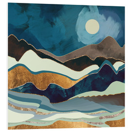 Foam board print  Autumn Hills - SpaceFrog Designs