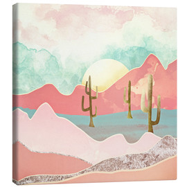 Canvas  Desert Mountains - SpaceFrog Designs