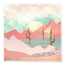 Premium poster  Desert Mountains - SpaceFrog Designs