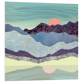 Foam board print  Summer Dawn - SpaceFrog Designs
