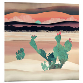 Acrylic print  Dawn in the desert - SpaceFrog Designs