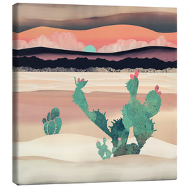 Canvas  Dawn in the desert - SpaceFrog Designs