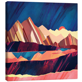 Canvas print  Desert Valley - SpaceFrog Designs