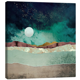 Canvas  Spring Night Desert - SpaceFrog Designs
