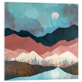 Acrylic print  Fall Transition - SpaceFrog Designs