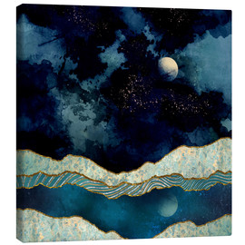 Canvas print  Indigo Sky - SpaceFrog Designs