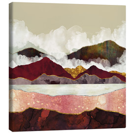 Canvas print  Melon Mountains - SpaceFrog Designs