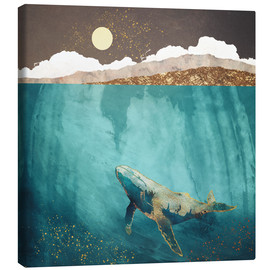 Canvas print  Light beneath - SpaceFrog Designs