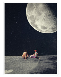 Premium poster  I Gave You The Moon For A Smile - Frank Moth