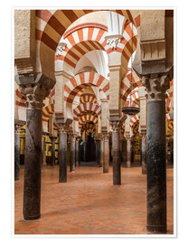 Premium poster  The Mosque of Cordoba