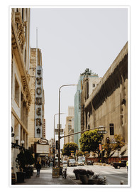 Premium poster  Downtown Los Angeles III - Pascal Deckarm