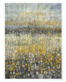 Premium poster Rain Abstract II