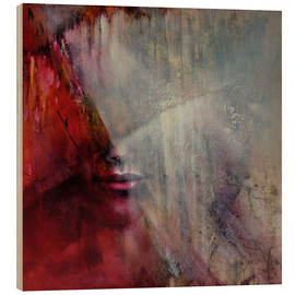 Wood print  Juliet - Annette Schmucker