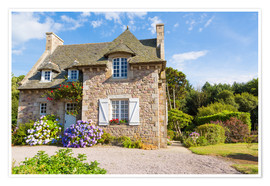 Premium poster  Country house in the summer