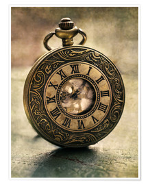 Premium poster An Old Pocket Watch