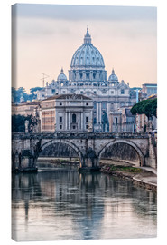 Canvas print  The Basilica of the Vatican