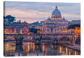 Canvas print  The Basilica of the Vatican of St. Peter