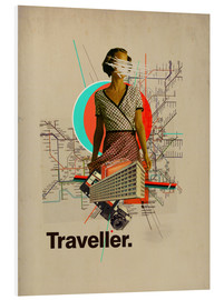 Foam board print  Traveller - Frank Moth