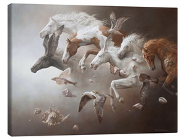 Canvas print  Horses of Neptune - Johnny Palacios