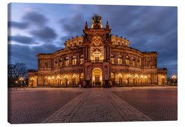 Canvas print  Semper Opera Dresden Germany - Achim Thomae