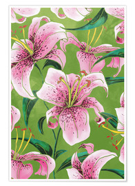 Premium poster Tiger Lily