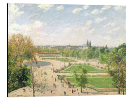 Aluminium print  The Garden of the Tuileries on a Spring Morning - Camille Pissarro
