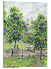 Aluminium print  Saint Anne's Church in Kew, London - Camille Pissarro