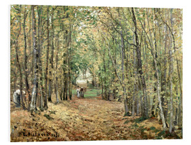 Foam board print  The forest at Marly - Camille Pissarro