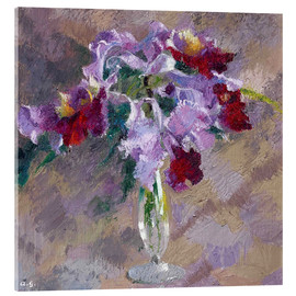 Acrylic print  orchid - Augusto Giacometti