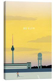 Canvas  Berlin - Tempelhofer Feld illustration - Katinka Reinke