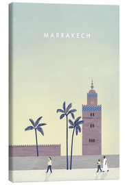 Canvas print  Marrakesh illustration - Katinka Reinke