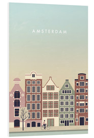 Foam board print  Amsterdam Illustration - Katinka Reinke