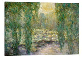 Acrylic print  The water lilies - Blanche Hoschede-Monet