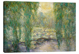 Canvas print  The water lilies - Blanche Hoschede-Monet