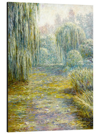 Aluminium print  The garden in Giverny - Blanche Hoschede-Monet