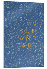 Acrylic print  My Sun And Stars - Orara Studio