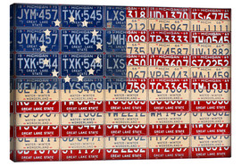 Canvas print  Betsy Ross flag USA - Design Turnpike