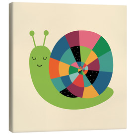 Canvas print  Snail Time - Andy Westface