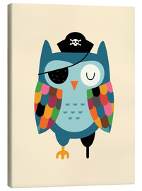Canvas print  Captain Whooo - Andy Westface