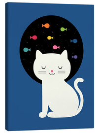 Canvas print  Cats Fantasy - Andy Westface