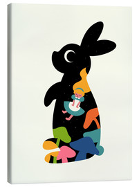 Canvas print  Alice - Andy Westface