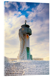 Acrylic print  Frozen Lighthouse - Simone Splinter