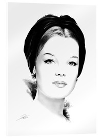 Acrylic glass  Hollywood diva - Romy Schneider - Dirk Richter