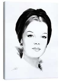 Canvas print  Hollywood diva - Romy Schneider - Dirk Richter