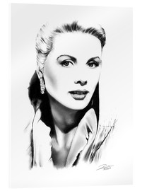 Acrylic glass  Hollywood diva - Grace Kelly - Dirk Richter