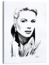 Canvas print  Hollywood diva - Grace Kelly - Dirk Richter